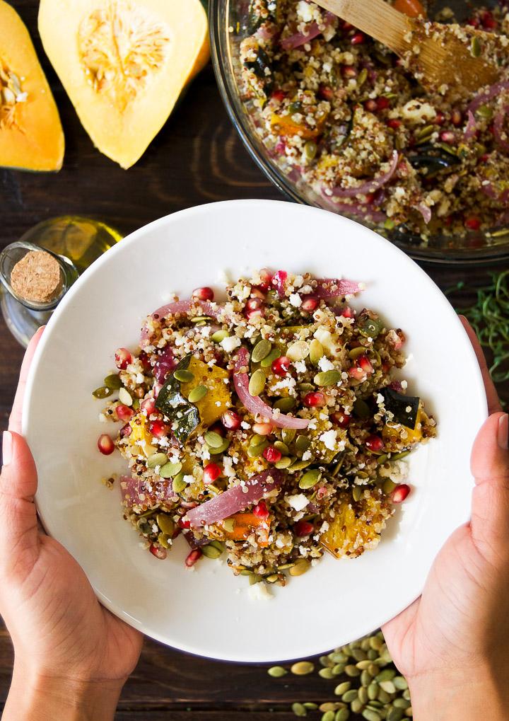 roasted Acorn Squash Salad