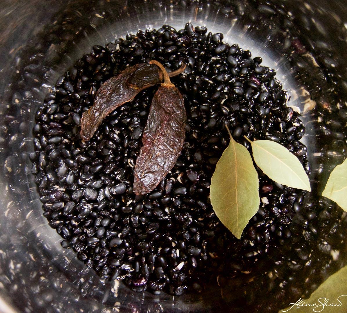 Skinny Black Beans Recipe