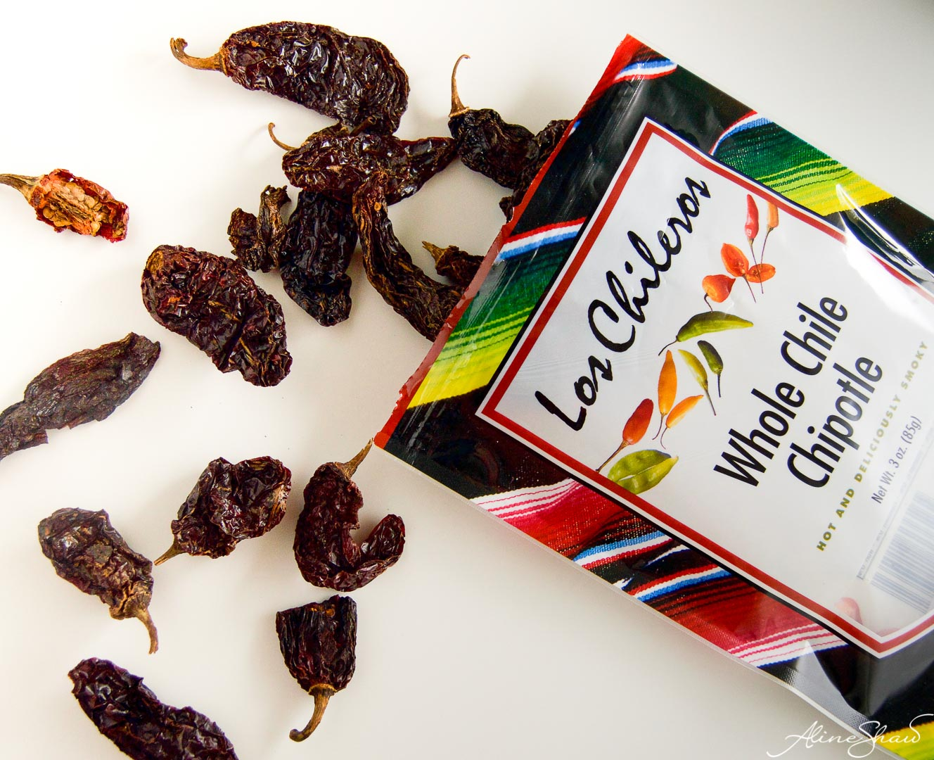 Dried chillies for vegan Black Beans Recipe
