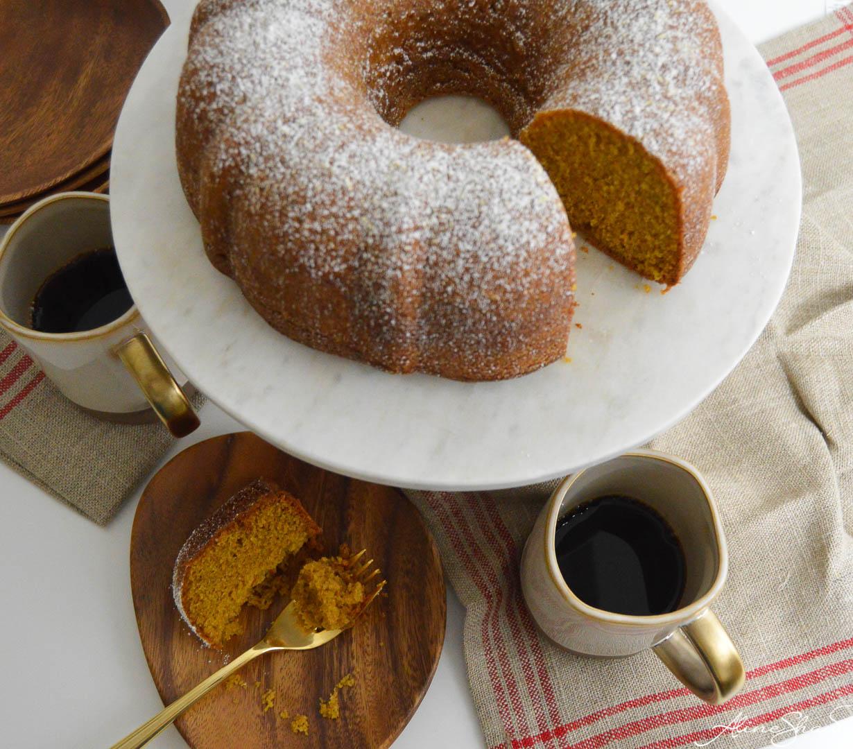 Spiced Brown Sugar Cake