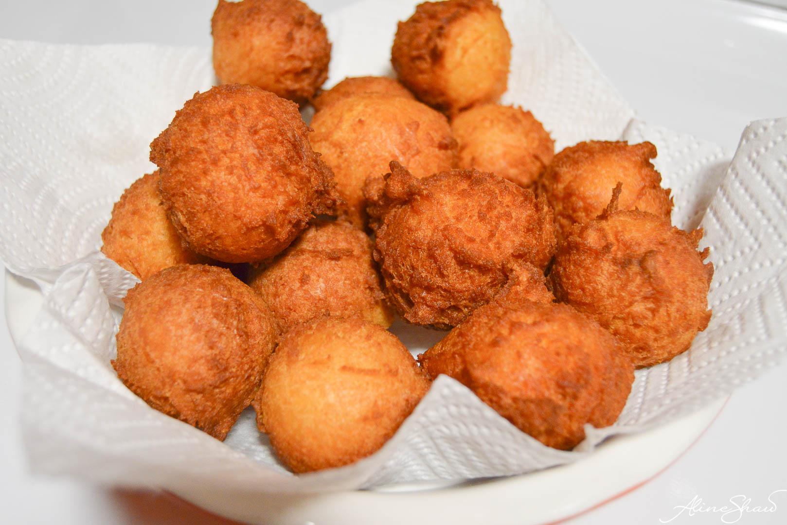 Funnel Cake Balls