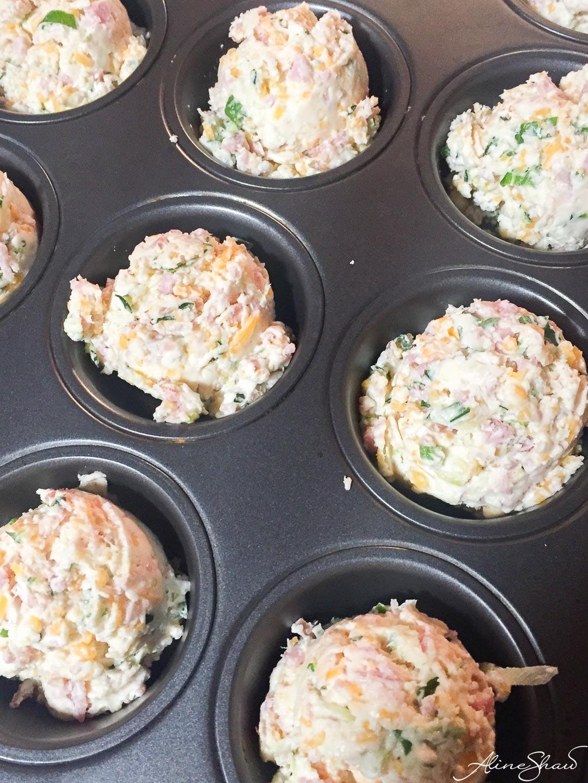 Zucchini Breakfast Muffins
