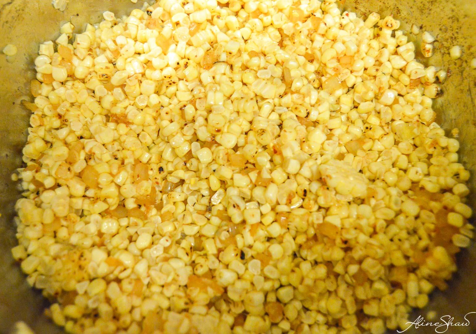 Corn Chowder Prep