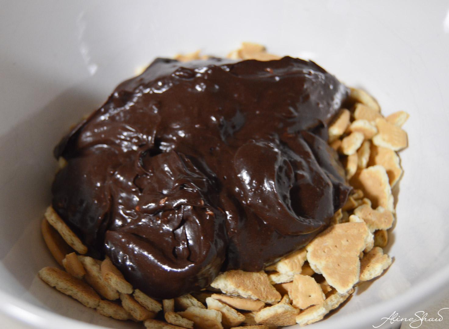 no bake chocolate pie