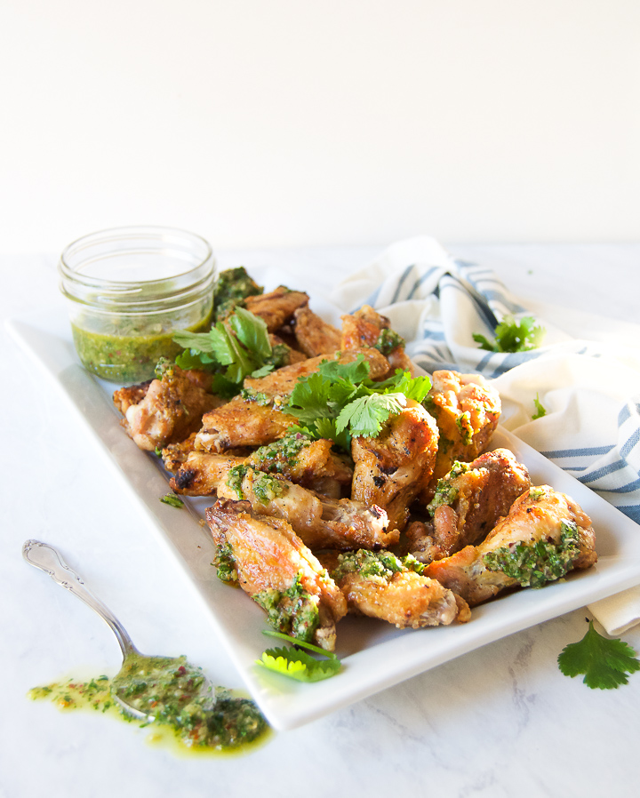 chimichurri wings
