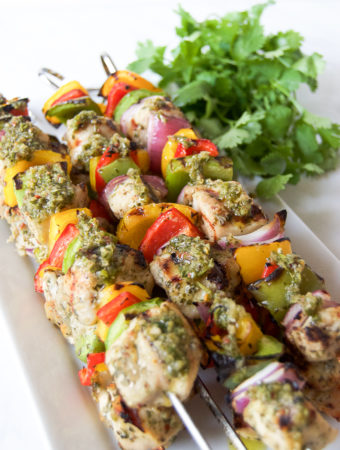 Grilled Chimichurri Chicken