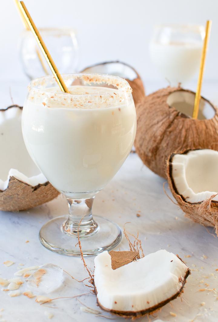 Batida de Coco - Brazilian Coconut Cocktail | Brazilian Kitchen Abroad