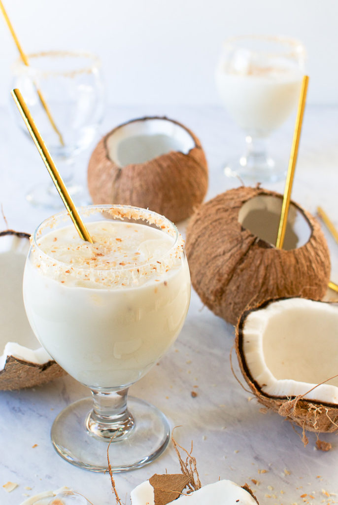 Batida de coco - Brazilian Coconut Cocktail