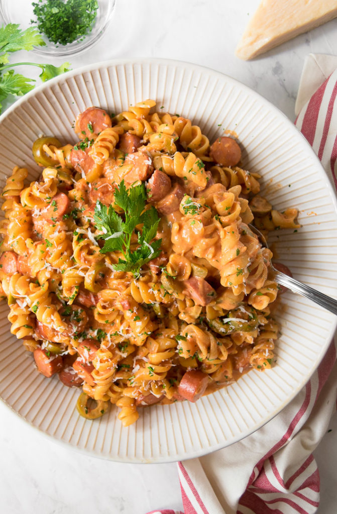 Hot Dog Pasta Recipe