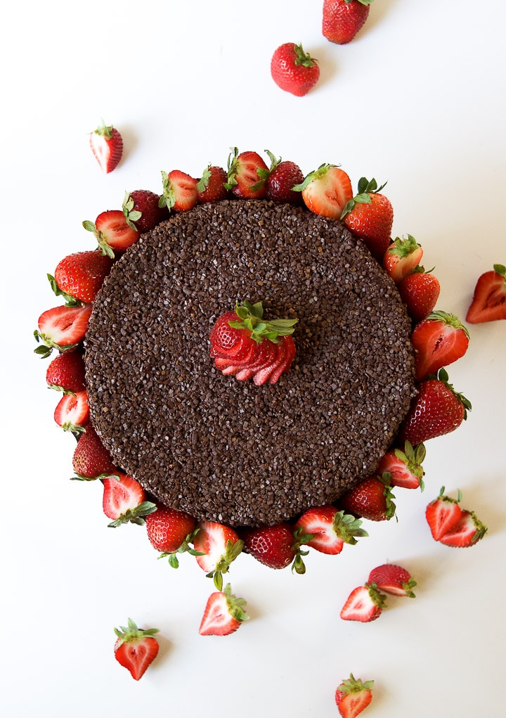 Pave de Chocolate - no bake chocolate biscuit cake recipe