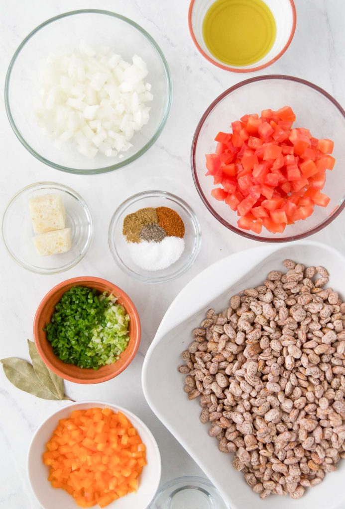 Instant pot pinto beans ingredients