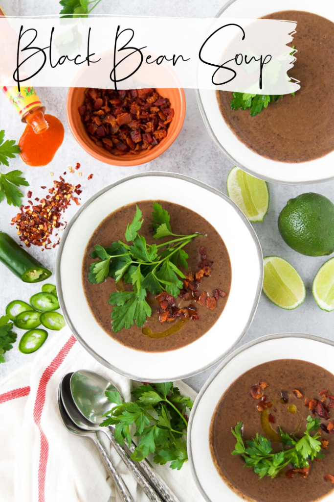 Creamy Black Bean Soup on Best Bean Recipes Guide