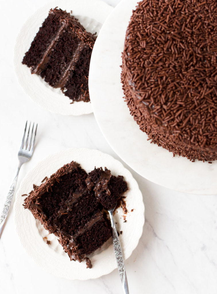 Brigadeiro Cake Recipe - the ultimate Brazilian Birthday Cake